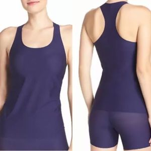 SPANX Light Control Perforated Racer shape wear Tank 10016R